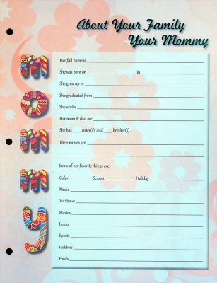 Adoption Baby Book Pink